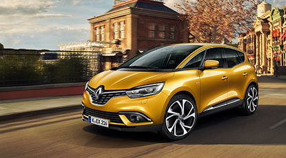 Der neue Renault Scenic - stilsichere Optik und innovative Technik